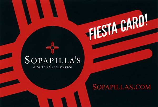 Sopapillas Gift Card